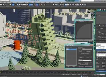 ساخت مدلهای سه بعدی (3DMAX)