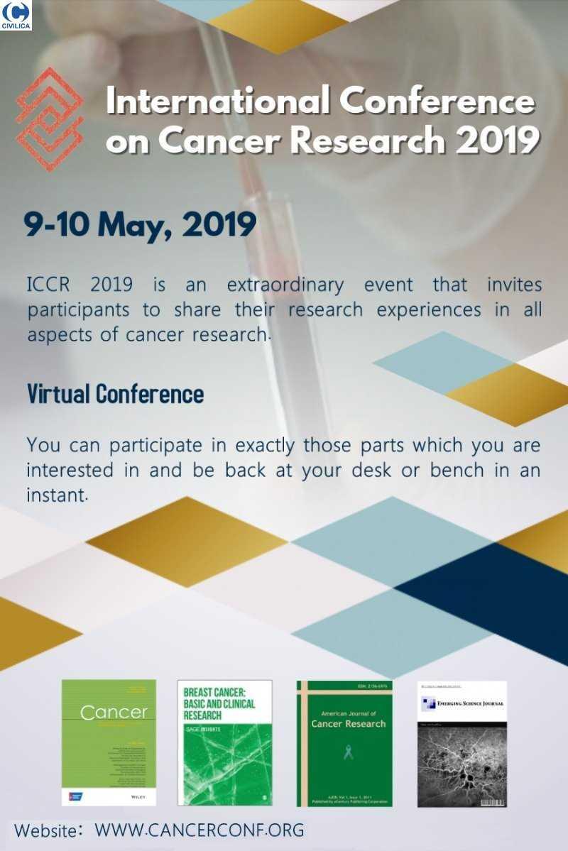 CANCER01 poster - همایش بین المللی تحقیقات سرطان 2019