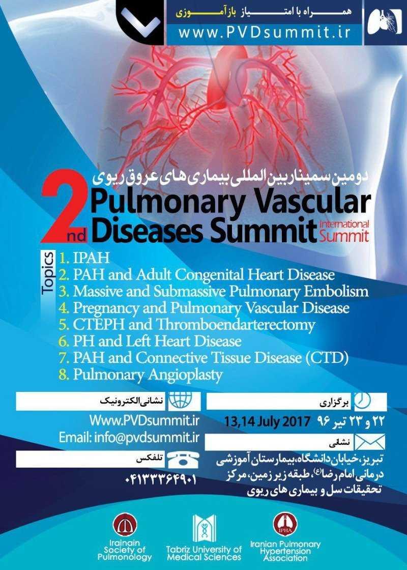 VLMED03 poster - سومین کنگره بین المللی بیماری های عروقی ریه