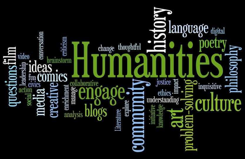 humanities word دپارتمان علوم انسانی