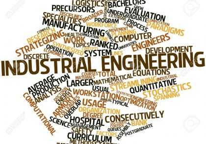 16049480 abstract word cloud for industrial engineering with related tags and terms 420x294 - پایان نامه مهندسی صنایع