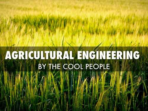 Agricultural Engineering - مهندسی کشاورزی موضوع پروژه