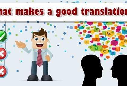 good translation 420x286 - چه چیز موجب یک ترجمه صحیح می شود؟